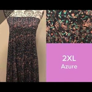 New Lularoe Azure 2XL Skirt